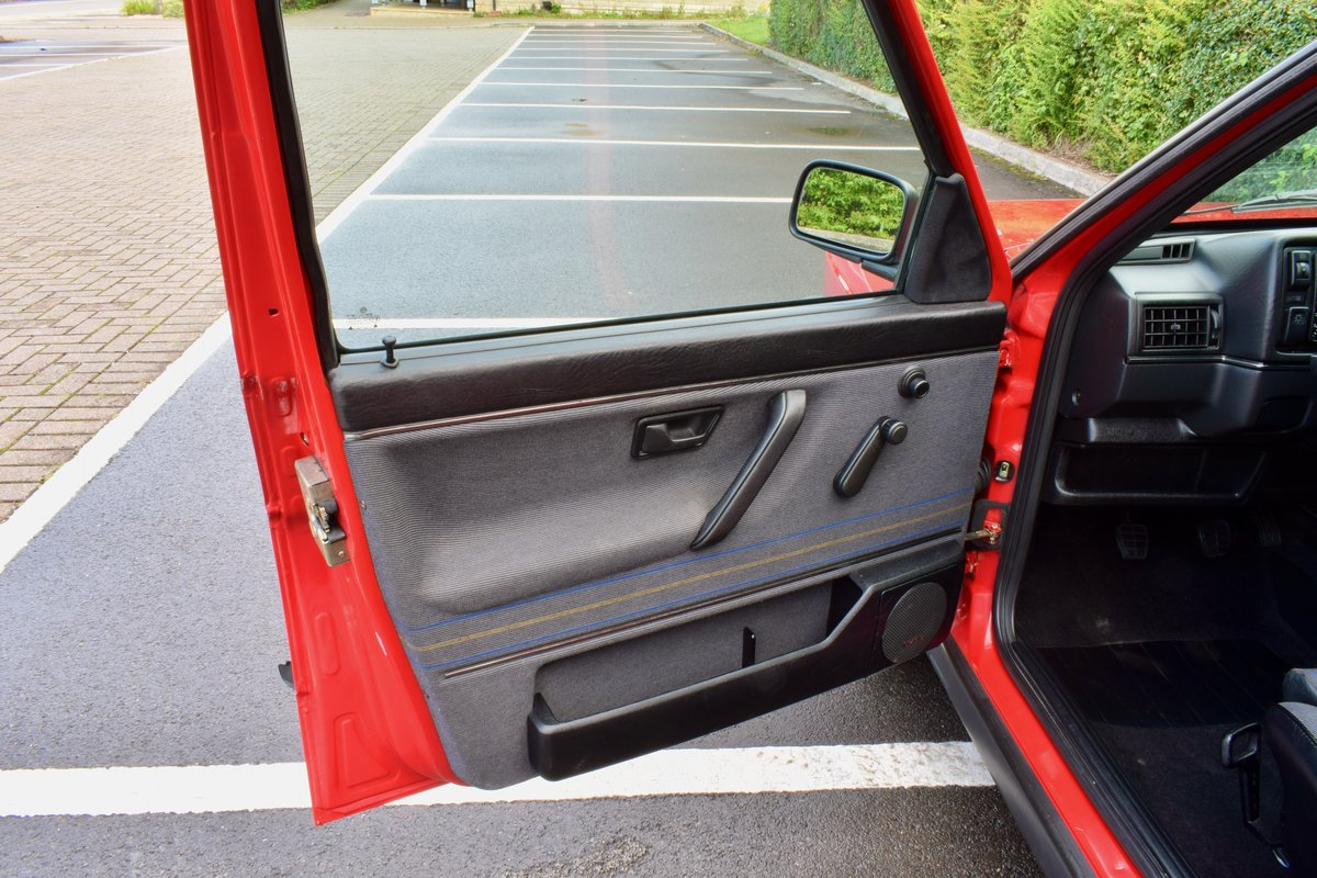 VW GOLF MK2 G60 SYNCRO 1992 1.8 4 WHEEL DRIVE RED 5DR RARE For Sale (picture 6 of 20)