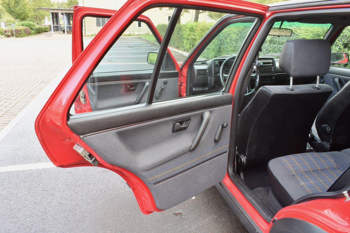 VW GOLF MK2 G60 SYNCRO 1992 1.8 4 WHEEL DRIVE RED 5DR RARE For Sale (picture 8 of 20)