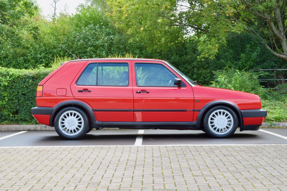 VW GOLF MK2 G60 SYNCRO 1992 1.8 4 WHEEL DRIVE RED 5DR RARE For Sale (picture 12 of 20)