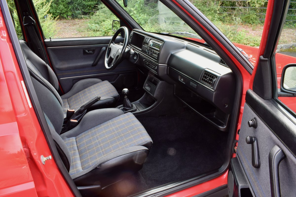 VW GOLF MK2 G60 SYNCRO 1992 1.8 4 WHEEL DRIVE RED 5DR RARE For Sale (picture 13 of 20)