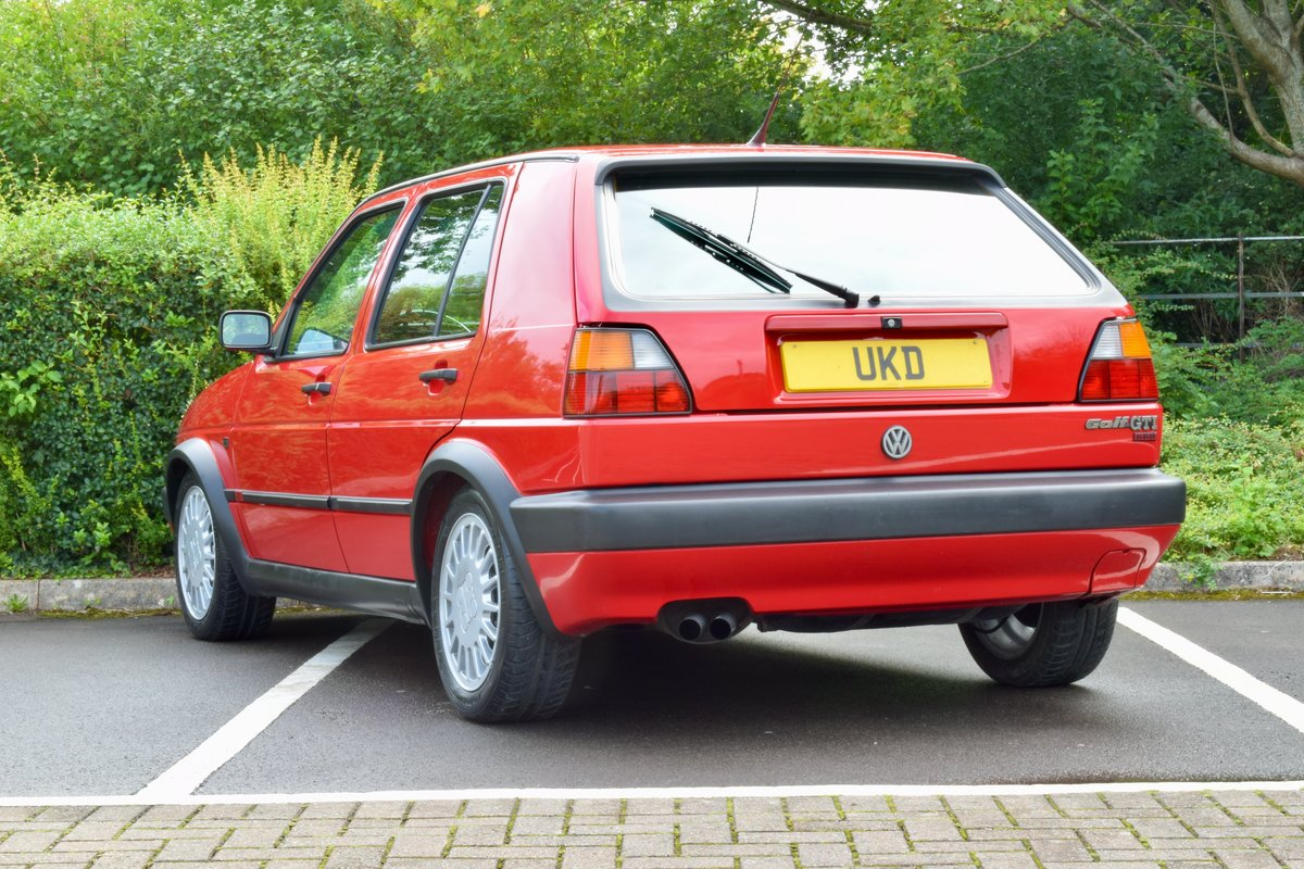 VW GOLF MK2 G60 SYNCRO 1992 1.8 4 WHEEL DRIVE RED 5DR RARE For Sale (picture 18 of 20)