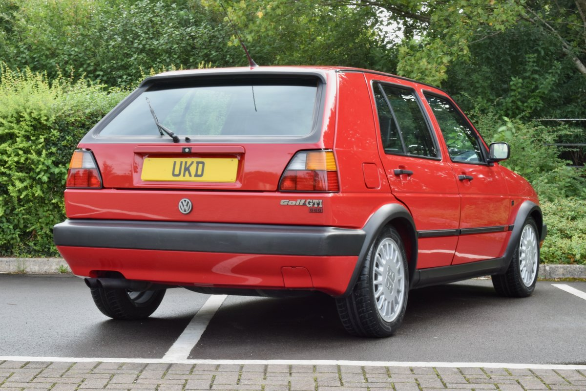 VW GOLF MK2 G60 SYNCRO 1992 1.8 4 WHEEL DRIVE RED 5DR RARE For Sale (picture 20 of 20)