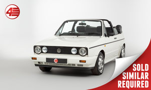 Picture of 1992 VW Golf Mk1 Clipper Cabriolet /// Manual /// 27k Miles SOLD