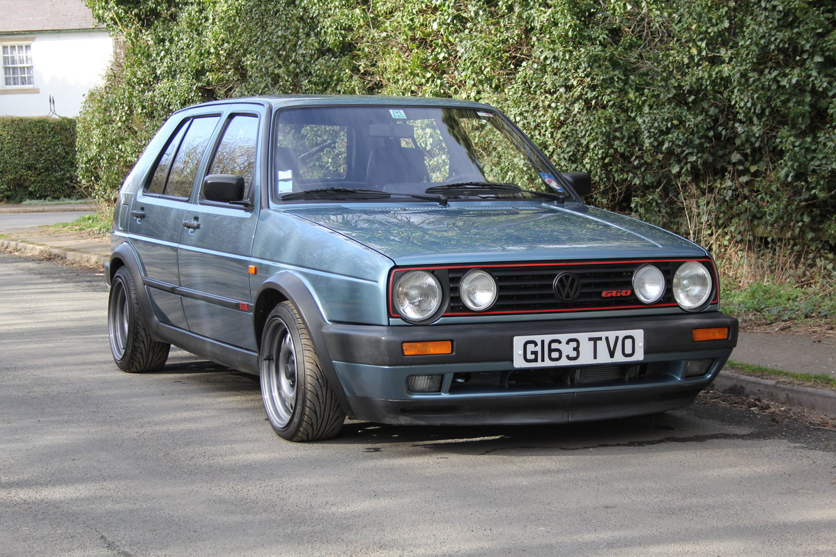1990 Volkswagen Golf GTI MkII G60, 70k miles For Sale (picture 1 of 20)