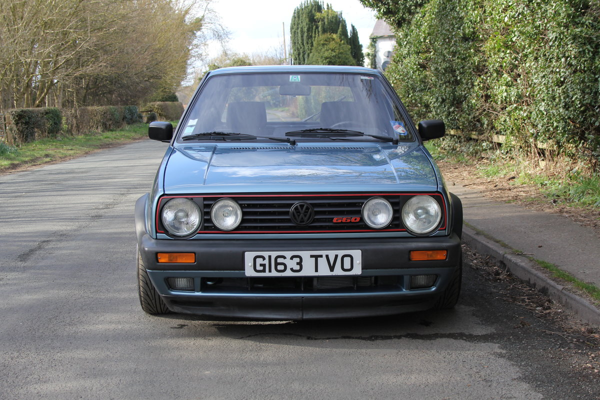 1990 Volkswagen Golf GTI MkII G60, 70k miles For Sale (picture 2 of 20)