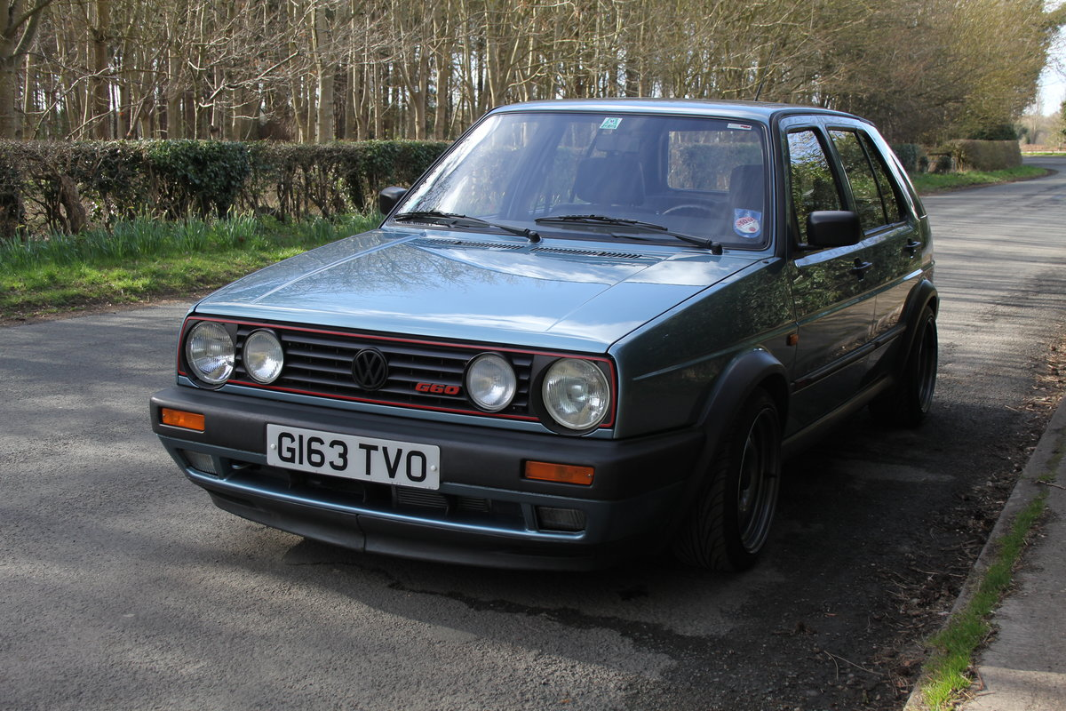 1990 Volkswagen Golf GTI MkII G60, 70k miles For Sale (picture 3 of 20)
