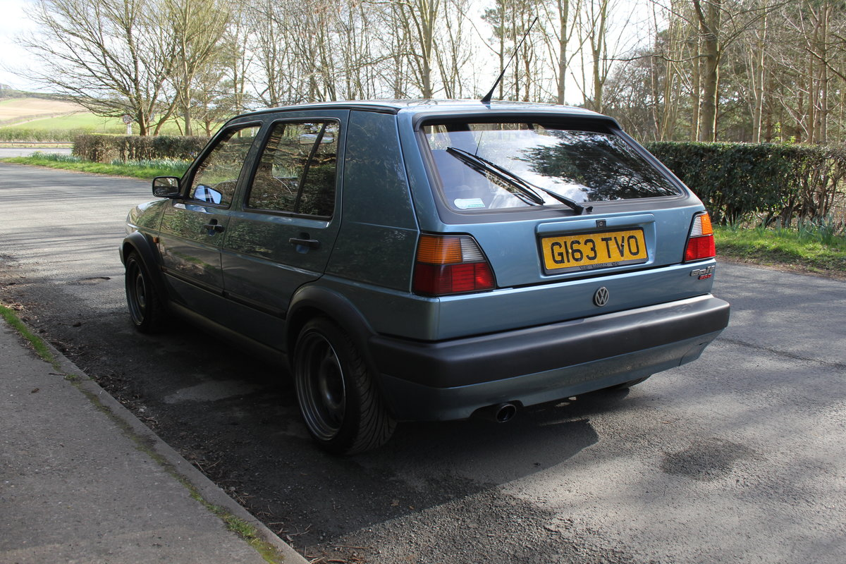 1990 Volkswagen Golf GTI MkII G60, 70k miles For Sale (picture 4 of 20)