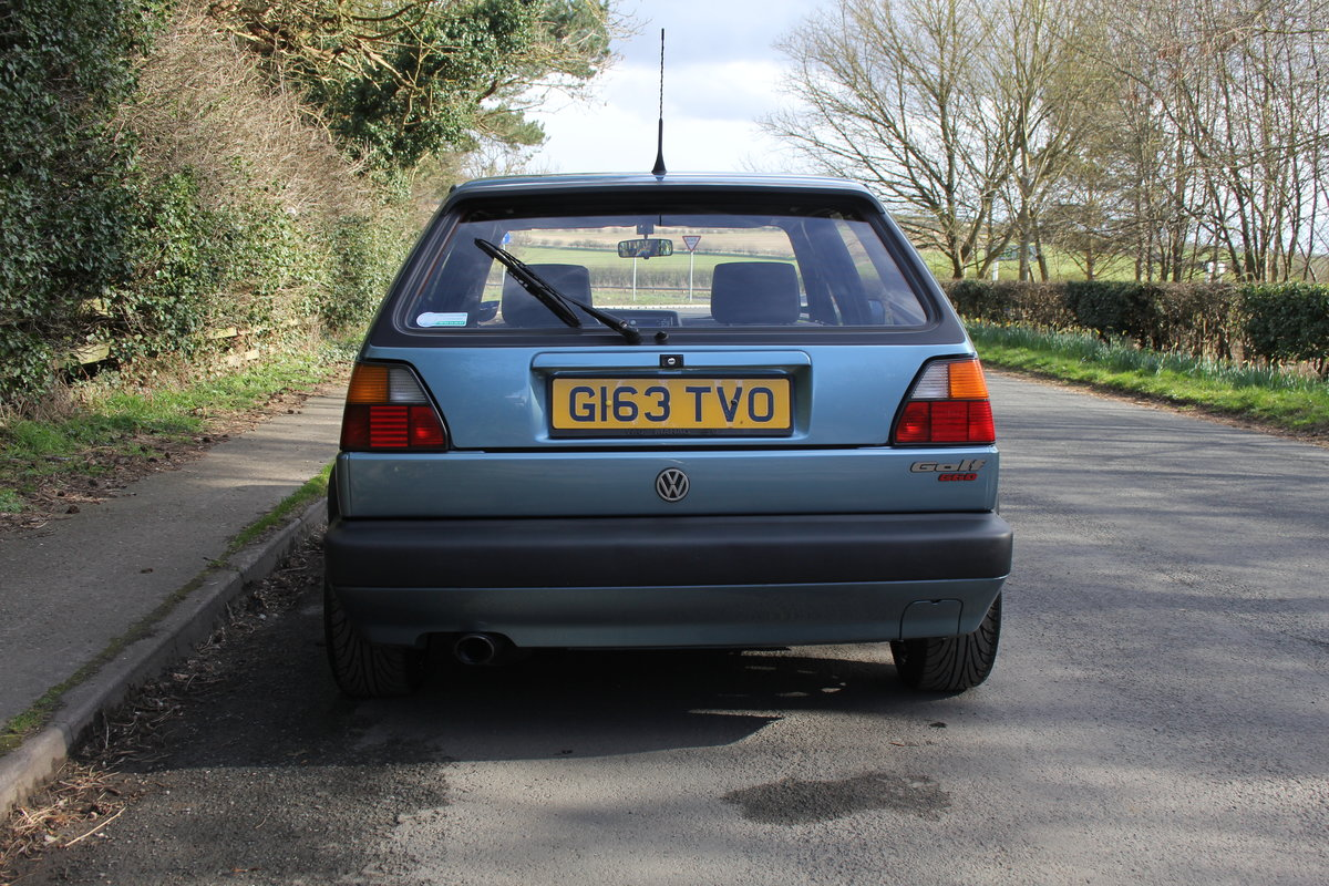 1990 Volkswagen Golf GTI MkII G60, 70k miles For Sale (picture 5 of 20)