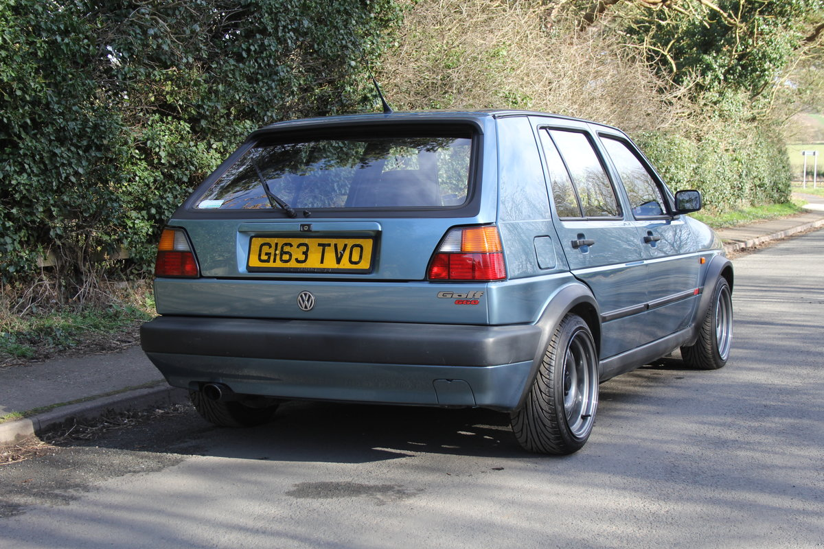 1990 Volkswagen Golf GTI MkII G60, 70k miles For Sale (picture 6 of 20)
