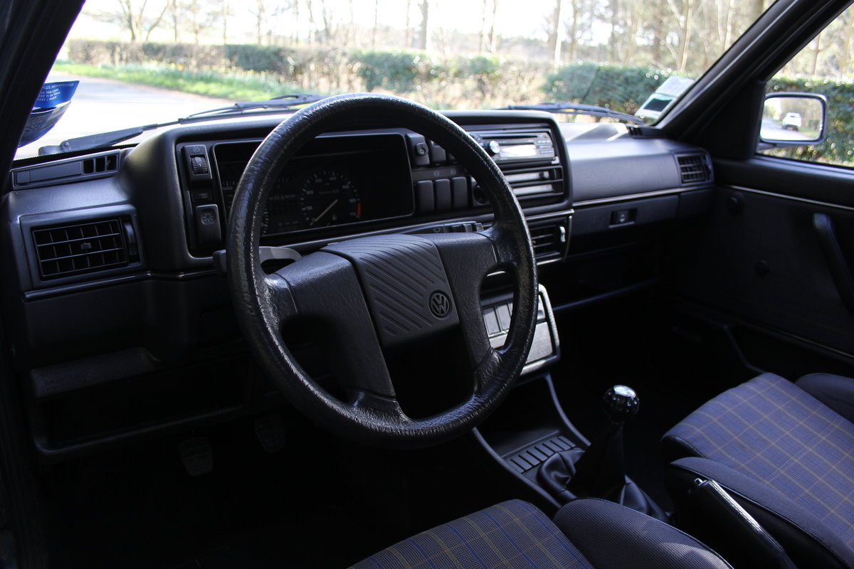1990 Volkswagen Golf GTI MkII G60, 70k miles For Sale (picture 8 of 20)