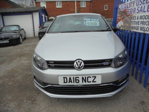 Picture of 2015 GT POLO 3 DOOR IN SLIVER WITH GREY TRIM SMART LOOKING CAR For Sale