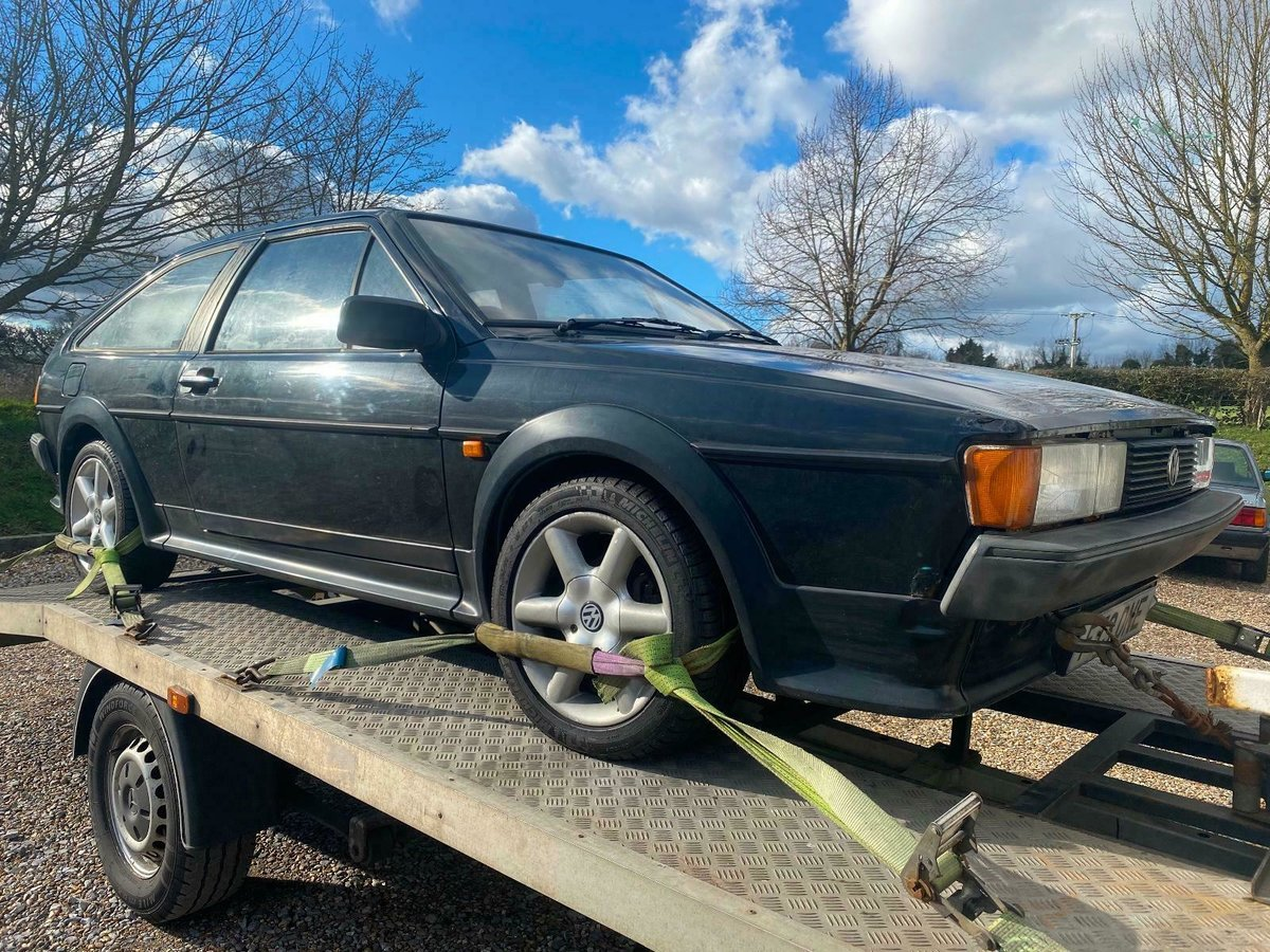1988 MK2 Scirocco GT Manual, Light Restoration Project For Sale (picture 1 of 10)
