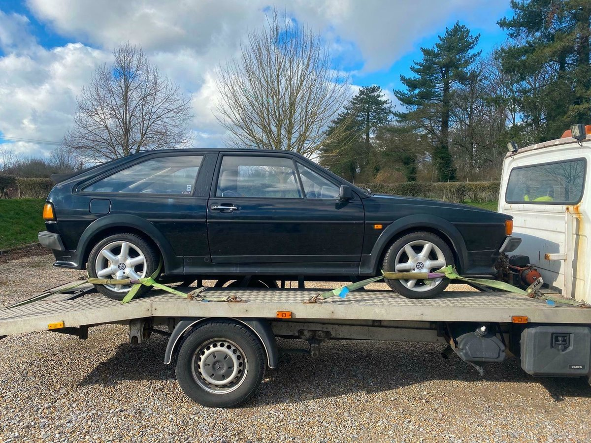 1988 MK2 Scirocco GT Manual, Light Restoration Project For Sale (picture 2 of 10)