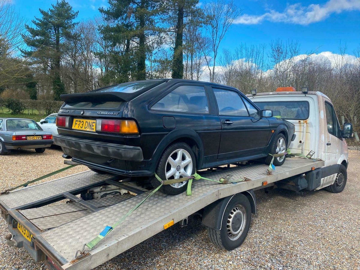 1988 MK2 Scirocco GT Manual, Light Restoration Project For Sale (picture 3 of 10)