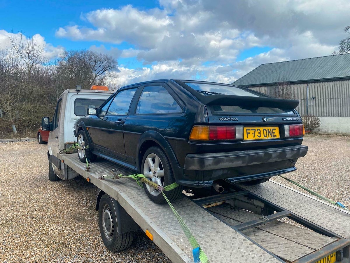 1988 MK2 Scirocco GT Manual, Light Restoration Project For Sale (picture 5 of 10)