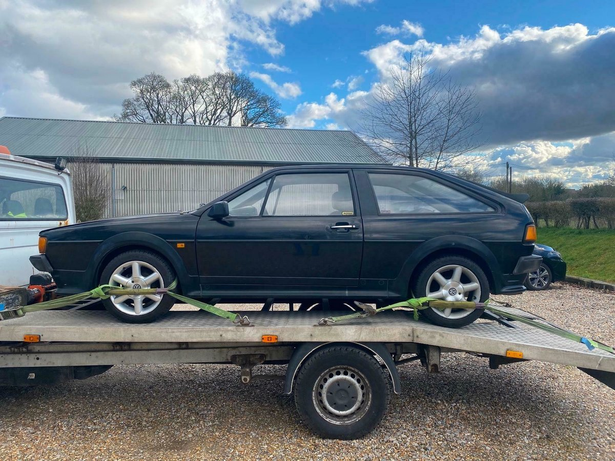 1988 MK2 Scirocco GT Manual, Light Restoration Project For Sale (picture 6 of 10)