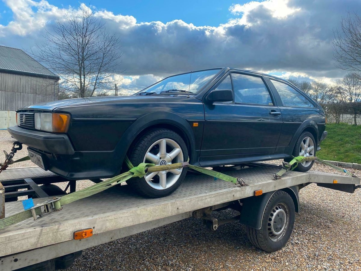 1988 MK2 Scirocco GT Manual, Light Restoration Project For Sale (picture 7 of 10)