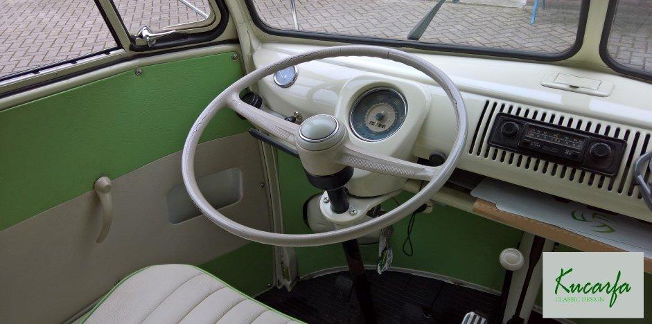 1975 Volkswagen T1 Kombi deluxe 15 windows 75 hp For Sale (picture 5 of 6)
