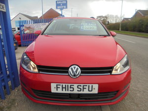 Picture of 2015 GOLF DIESEL ESTATE S.E 2LTR TURBO DIESEL IN  RED 182,000 For Sale