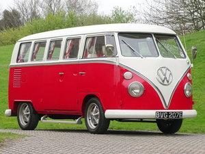 Picture of 1967 Volkswagen Type 2 13-Window Samba Van For Sale by Auction