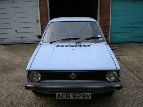 1980 Volkswagen Golf L Series 1 Classic MK1 Golf SOLD (picture 1 of 6)