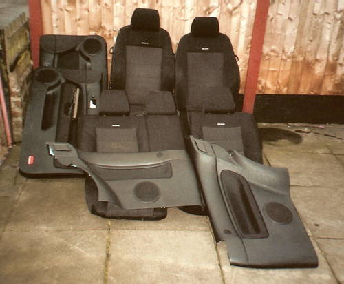 MK4VW  GOLF GTi  3DR RECARO INTERIOR For Sale (picture 1 of 2)