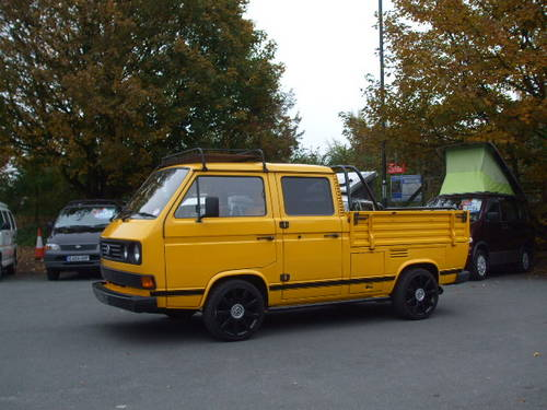 1990 VW T25 Crew Cab Pick Up 1600 Turbo Diesel SOLD (picture 1 of 6)