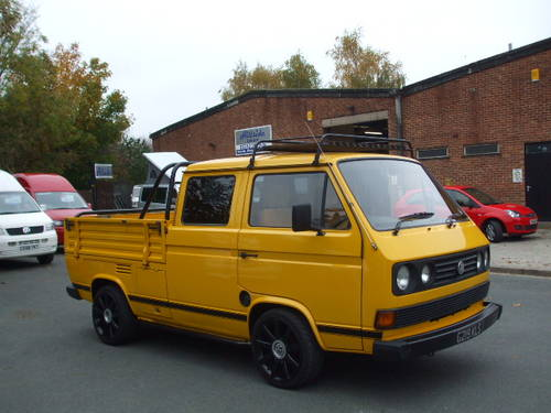 1990 VW T25 Crew Cab Pick Up 1600 Turbo Diesel SOLD (picture 2 of 6)