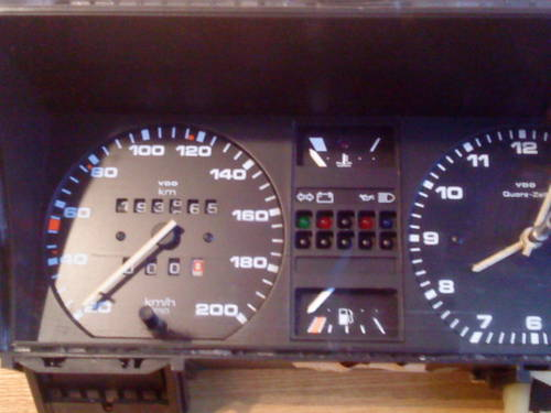 MK2 VW GOLF  GTI  VDO TYPE CLOCK (200 KM/H) For Sale (picture 2 of 6)