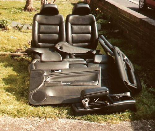 MK4 VW PASSAT B5 FULL LEATHER INTERIOR For Sale (picture 1 of 2)