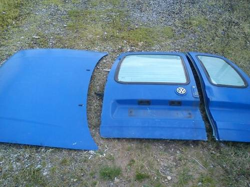MK4 VW CADDY VAN FRONT & REAR DOORS For Sale (picture 3 of 6)