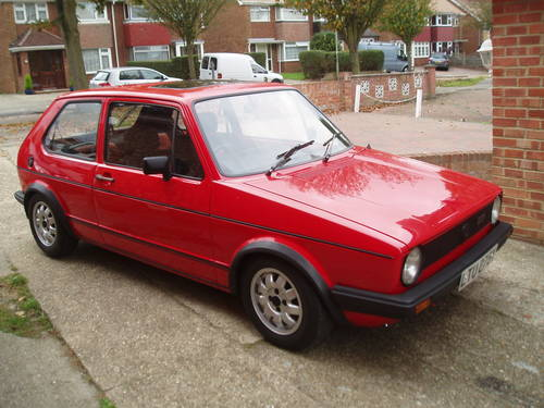 1982 Volkswagen Golf Mk1 Gti Sold Car And Classic