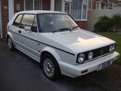 1989 vw golf mk1 gti cabriolet convertible sold car and. Black Bedroom Furniture Sets. Home Design Ideas