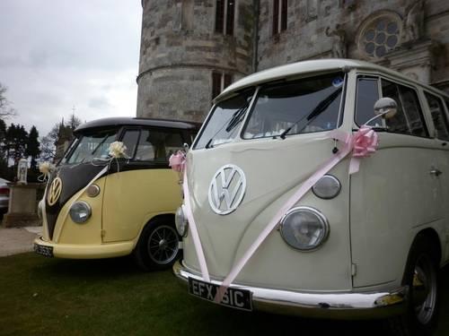 1965 Weddingwagens VW camper van wedding hire Dorset. For Hire (picture 2 of 5)