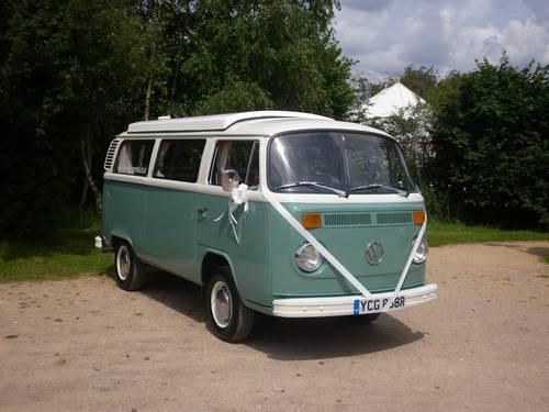 1965 Weddingwagens VW camper van wedding hire Dorset. For Hire (picture 4 of 5)