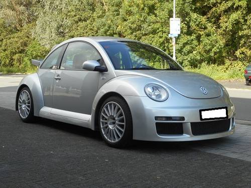 2002 VW NEW BEETLE 3.2 RSI  COLLECTORS ITEM !   For Sale (picture 1 of 6)