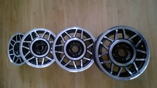 Mk2 VW Scirocco Scala 14 Inch Alloy Wheels SOLD (picture 1 of 6)
