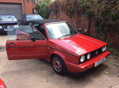 1991 VW Golf GTi Mk1 Cabriolet For Sale (picture 1 of 6)