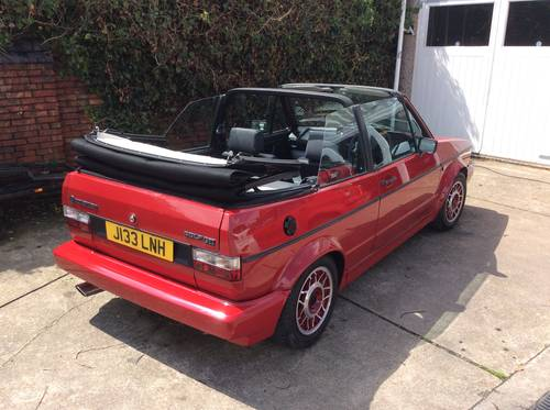 1991 VW Golf GTi Mk1 Cabriolet For Sale (picture 4 of 6)