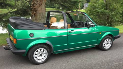 1982 Golf Mk 1 Convertible (Mint) SOLD (picture 2 of 5)