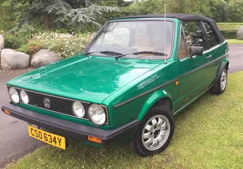 1982 Golf Mk 1 Convertible (Mint) SOLD (picture 4 of 5)