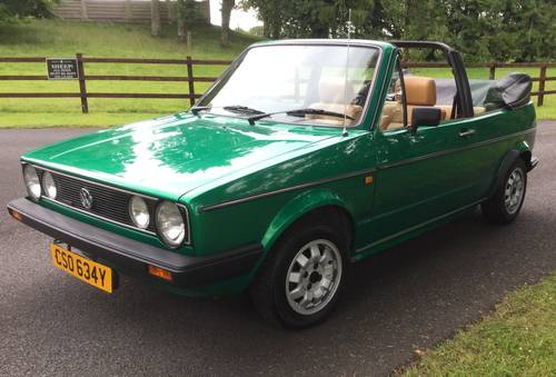 1982 Golf Mk 1 Convertible (Mint) SOLD (picture 5 of 5)