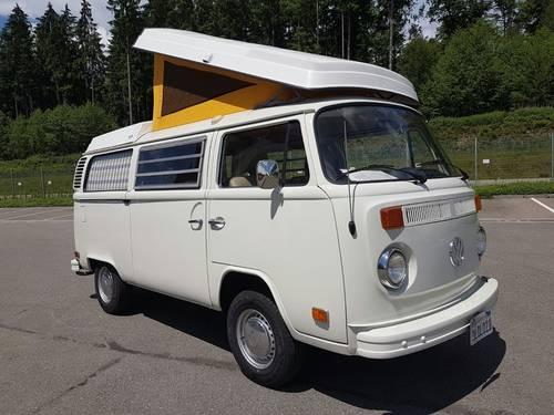 1975 Volkswagen T2B Westfalia, Camper Van, Bulli SOLD (picture 1 of 6)