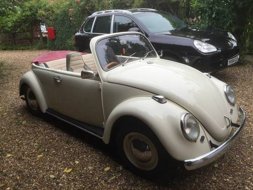 VW Beetle 1964, 1300cc For Sale (picture 1 of 3)