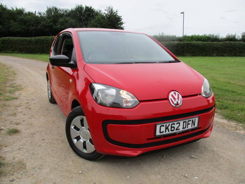 2012 Volkswagen Up 1.0 'Take Up'. FSH. 28727 miles For Sale (picture 1 of 6)