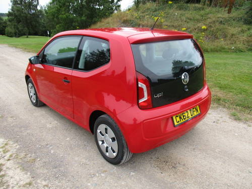 2012 Volkswagen Up 1.0 'Take Up'. FSH. 28727 miles For Sale (picture 2 of 6)
