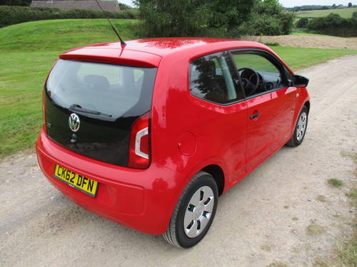 2012 Volkswagen Up 1.0 'Take Up'. FSH. 28727 miles For Sale (picture 4 of 6)