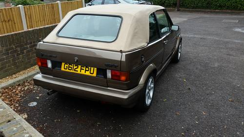 1990 Mk1 VW Golf cabriolet Clipper For Sale (picture 4 of 6)