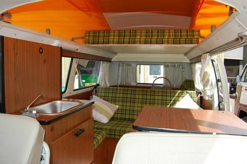 1975 Volkswagen T2 Westfalia Camper - fully restored For Sale (picture 4 of 6)