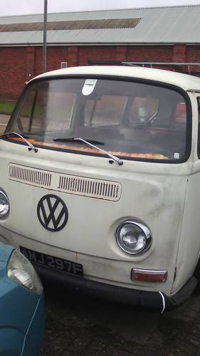1968 VW T2a 8 SEATER MICROBUS For Sale (picture 1 of 6)